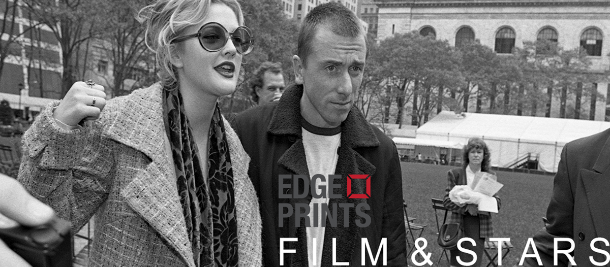 Drew Barrymore and Tim Roth during fashion week on October 31, 1995 in New York City, New York. (Photo by Catherine McGann)