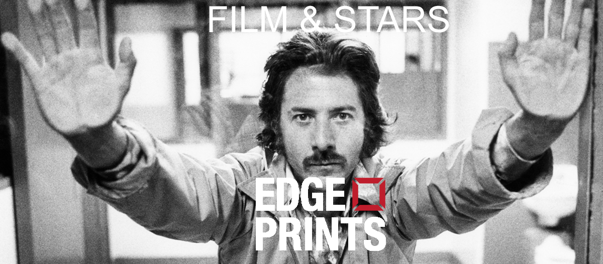 STRAIGHT TIME, Dustin Hoffman on set, 1978, Everett Collection. Available as a silver gelatin print from EDGE PRINTS.