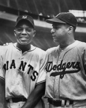Mays and Campanella New York Giants