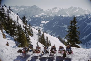 Lounging in Gstaad
