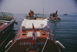 Motorboats In Antibes