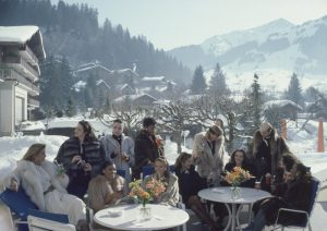 Drinks At Gstaad