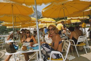 Cafe In Monte Carlo